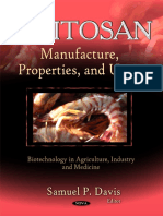 Chitosan Manufacture Properties and Usage