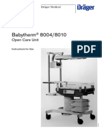 Dräger Babytherm 8004-8010 - User Manual