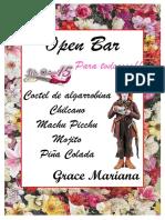 Diseño 15 Años- Grace Mariana