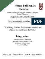 Analisis y Diseño de Sistemas Orientados a Objetos