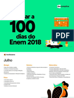 2018 eBook O Que Estudar a 100 Dias Do Enem 2018