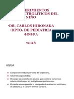 REQUERIMIENTOS HIDROELECTROLITICOS