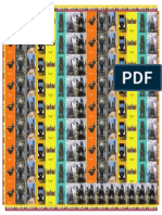 Medellín inspired design for freezer magnets