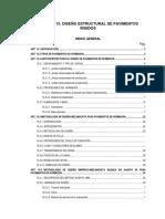 Manual de diseño Estructural de Pavimentos Rígidos
