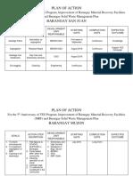 Plan of Action Brgy_yestogreen