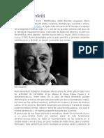Biografía Mario Benedetti