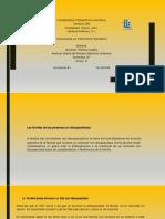 """Presentación de power point  """"LAS FAMILIAS DE PERSONAS CON DISCAPACIDAD"""""""