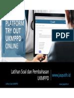 [Jasputih.id] Pembahasan Soal Try Out Ukmppd