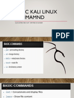 Basic Kali Linux Cpmmamnd