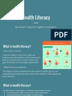 health literacy 1