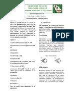 Electronica II informe de auto polarización JFET