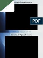 Slides Algebra relacional IEFP