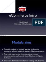 Lecture 1 Ecommerce Intro