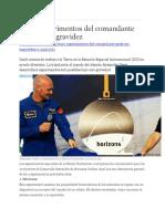 00 ASTRONAUTAS EUROPEOS Cinco Experimentos Del Comandante Gerst
