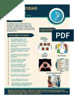 Infogramas de discapacidades y estrategias de abordaje