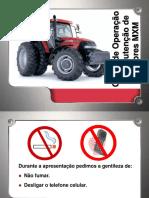 Curso de ,Anutenção e Operação de Tratores - 2016.