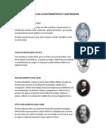 Historia de La Electroestática y Electricidad