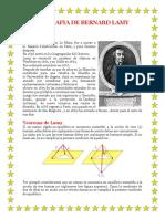 Biografia de Bernard Lamy