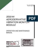 129774-01 Rev D 3500 44 Aeroderivative Gt Vibration Monitor Module Operation and Maintenance Manual