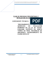 Plan de Medidas Preventivas y Mitigacion de Riesgos