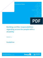 Draft Premises Standards Guidelines