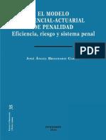 BRANDARIZ El Modelo Gerencial-Actuarial de Penalidad
