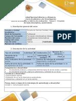 Rúbrica de Evaluación - Tarea 2