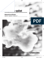 Manual Masina de Spalat - WW70K44305W-LE