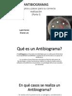 antibiograma aatalac clase 5, parte 1