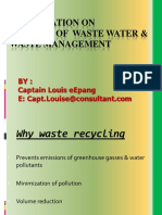 recycle of waste   waste management