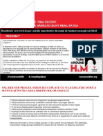 Raport salariu de trai H&M