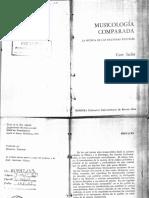 Curt Sachs - Musicologia Comparada 1966