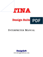 TINA Interpreter Manual