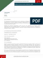 Ley Organica de Educacion Superior Loes AsesorLegalEcuador.com