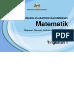 02 DSKP KSSM Tingkatan 1 Matematik.pdf