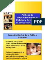 Políticas Educativas