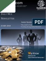 Daily Commodity Report    The Equicom
