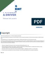 Manual de Usuario Samsung Cloud Print