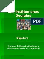 Las Instituciones Sociales