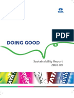 TataTea Sustainability Report 2008-09