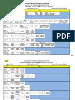 Ph.D.coursework Datesheet (July 2010)