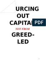 Sourcing Capital Not From Greed-led Private Banks