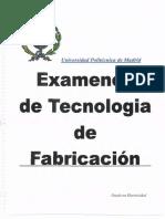 Examenes fabricación-Resueltos