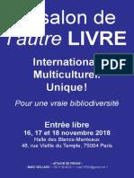DP Le Salon de l'Autre LIVRE 2018