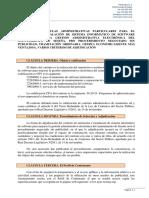 Pliego Clausulas Técnica Contrato sede electrónica ALGEMESI
