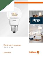 Osram Retail Lamps 2015
