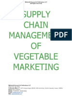 Supply Chain Management of Vegetable Marketing [www.writekraft.com]
