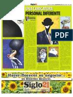 Turcios, Un Caricaturist A Diferente - Siglo 21 No. 542 - SEPT 23 Al 29 - 2010