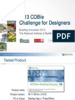 Bentley-COBie Challenge for Designers Presentation