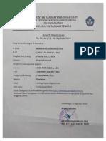 Surat Penugasan Operator SD Baulalongo